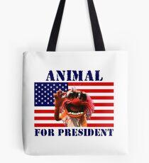 Animal for President Tote Bag
