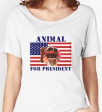Animal for President Women's Relaxed Fit T-Shirt