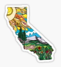 California is Love Sticker