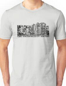 Kowloon Walled City Hong Kong Architecture T-shirt Unisex T-Shirt