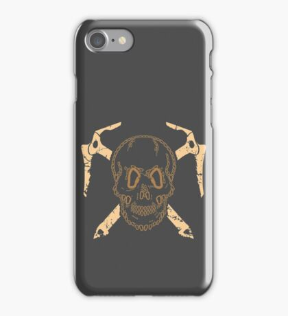 Skull and Cross Axes iPhone Case/Skin