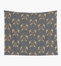 Skull and Cross Axes Wall Tapestry