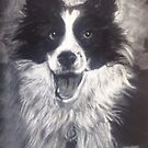 The laughing Collie by Ally Tate