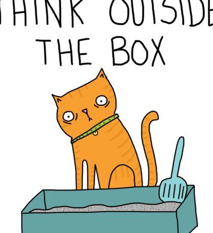 Creative Cat Sticker
