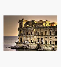 Naples Posillipo Photographic Print