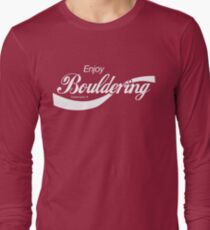 Enjoy Bouldering Long Sleeve T-Shirt