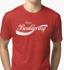 Enjoy Bouldering Tri-blend T-Shirt