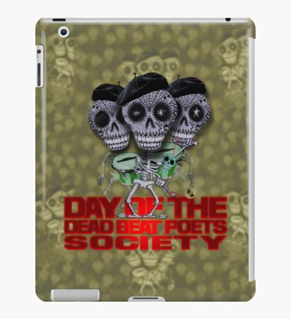 Day of the Dead Beat Poets Society iPad Case/Skin