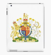Royal Coat of Arms for the United Kingdom iPad Case/Skin