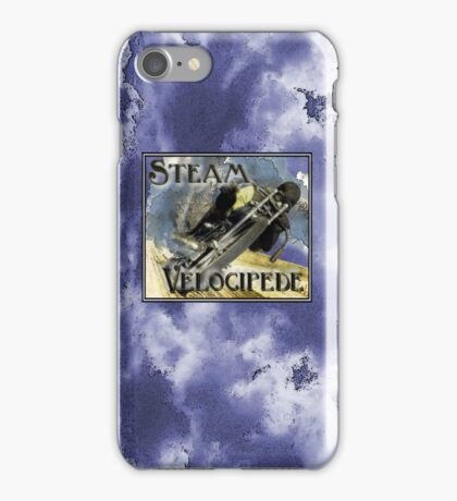 steam velocipede iPhone Case/Skin
