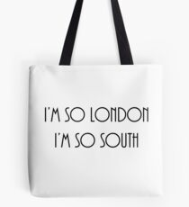 So London Tote Bag