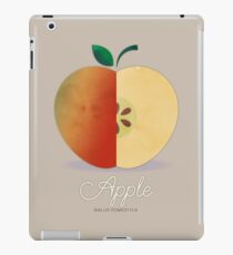 Apple (taupe) - Natural History Fruits iPad Case/Skin