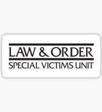 Law & Order SVU Sticker