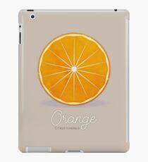 Orange (taupe) - Natural History Fruits iPad Case/Skin