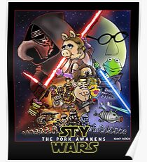 The Pork Awakens Poster