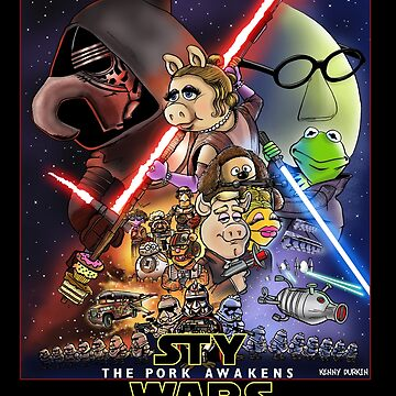 The Pork Awakens by Durkinworks