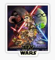 The Pork Awakens Sticker