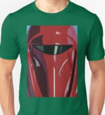 Red Imperial Guard Star Wars Print  T-Shirt