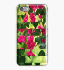 Pink Ribbon of Flowers iPhone Case/Skin