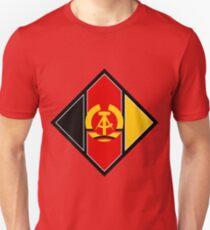 Emblem of aircraft of NVA (East Germany) Unisex T-Shirt