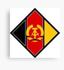 Emblem of aircraft of NVA (East Germany) Canvas Print