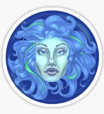 Madame Leota - Haunted Mansion Sticker