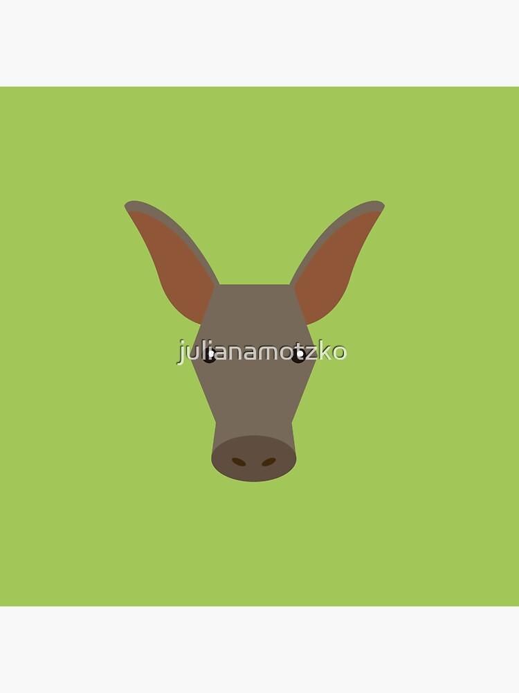 Aardvark by julianamotzko