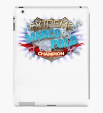 Extreme Marco Polo champion iPad Case/Skin