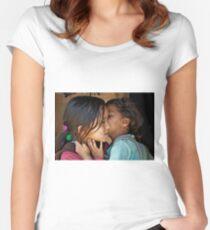 Playful Secrets Women's Fitted Scoop T-Shirt