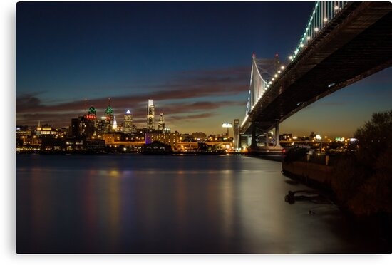 Rutger's View of Philly by Adam Northam