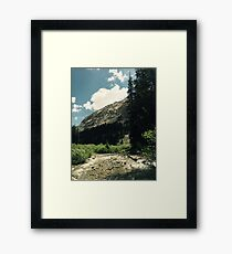 Empty River Framed Print