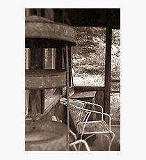 My Grandmother's Sun Room Photographic Print