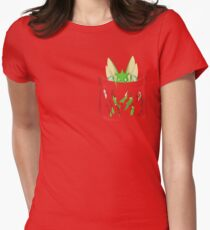 Dangerous to have Scyther in your Pocket Women's Fitted T-Shirt