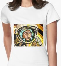 Cosmonaut Valentina Tereshkova-3 Women's Fitted T-Shirt