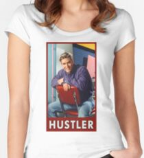 Zack Morris Saved By the Bell Hustler Women's Fitted Scoop T-Shirt
