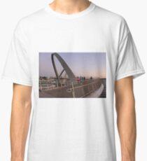 Elizabeth Quay, Perth Western Australia, Bridge  Classic T-Shirt