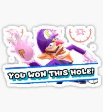 Ace in the Hole Waluigi Sticker