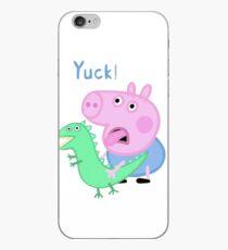 George Schwein Yuck! von Peppa Pig Mittagessen iPhone-Hülle & Cover