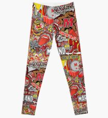 Maryland Collage Leggings