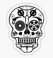 Symmetry skull Sticker