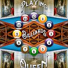 Playing Billiards with the Queen Versailles Palace Paris by Beverly Claire Kaiya