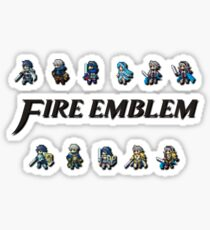 3DS LORDS | Fire Emblem Sticker