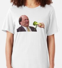 The Office Kevin Doesn't Like Broccoli Slim Fit T-Shirt