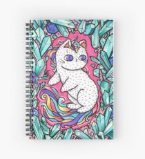 Unicorn  kitty Spiral Notebook
