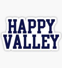 happy valley navy varsity Sticker