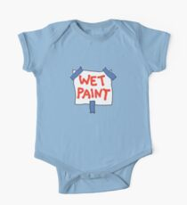 CAUTION don't touch! (wet paint) * Kids Clothes