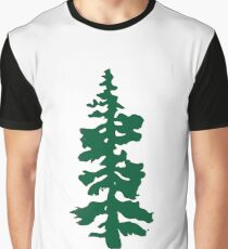oregon tree Graphic T-Shirt