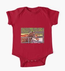 Horses and gate Kids Clothes