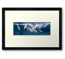The Art Of Surfing In Hawaii 29 Framed Print