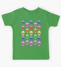 Skull Rainbow Kids Tee